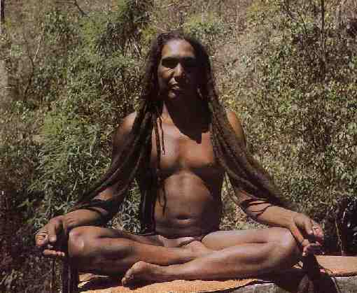 Yoga Guru Sri Tat Wale Baba - Rishi of the Himalayas, about 75 years old.